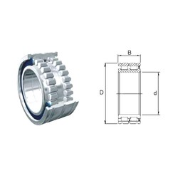 100 mm x 140 mm x 40 mm  ZEN NCF4920-2LSV cylindrical roller bearings