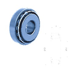 Fersa 32010XR tapered roller bearings