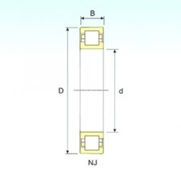 35 mm x 80 mm x 31 mm  ISB NUP 2307 cylindrical roller bearings