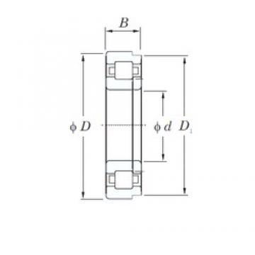 100 mm x 215 mm x 47 mm  KOYO NUP320R cylindrical roller bearings