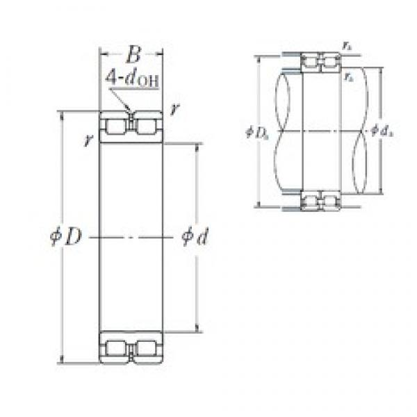 100 mm x 140 mm x 40 mm  NSK RSF-4920E4 cylindrical roller bearings #1 image